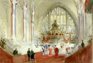 reception of Napoleon III at the Guildhall