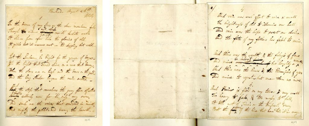 Manuscript of In the dome of my sires